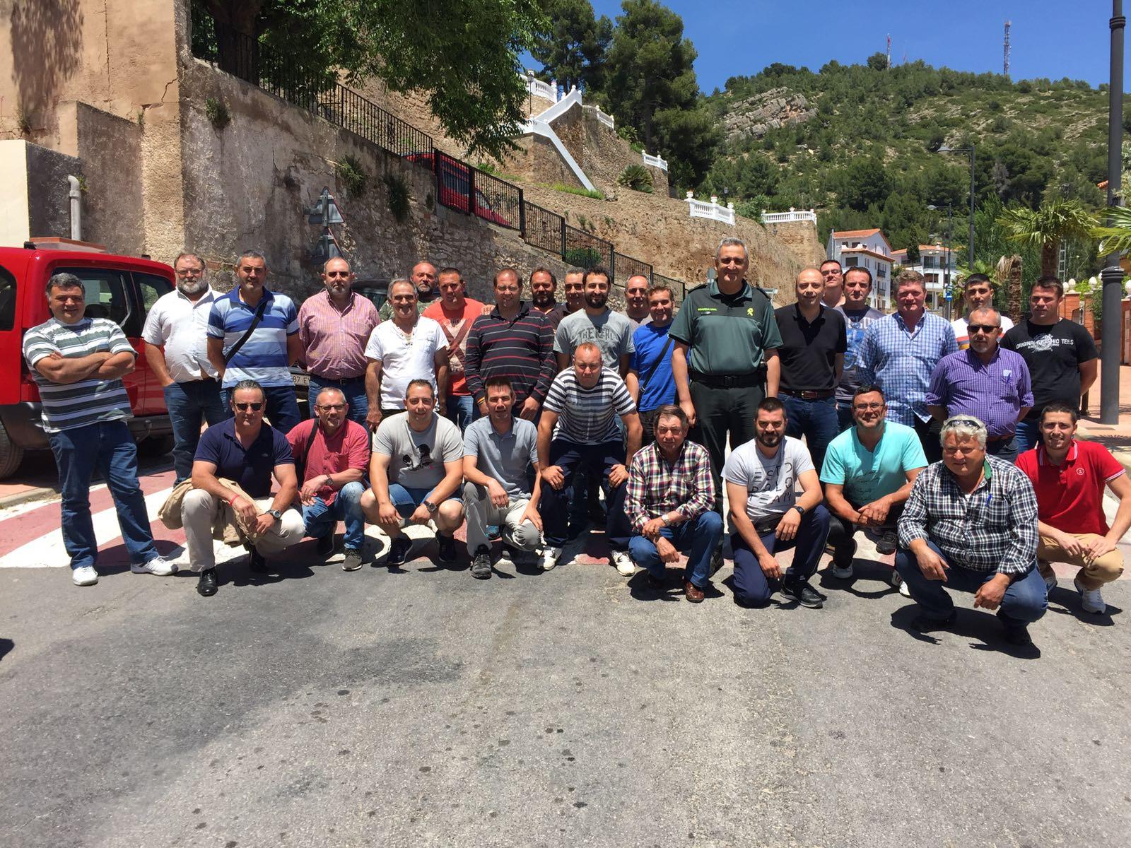 Celebrado en viver el curso de organizaci n de ganchos y for Curso mantenimiento de piscinas comunidad valenciana