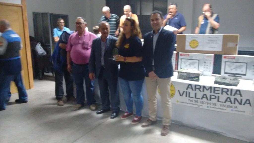 Jenifer Medina campeona Damas XV Campeonato Autonómico Palomas a Brazo