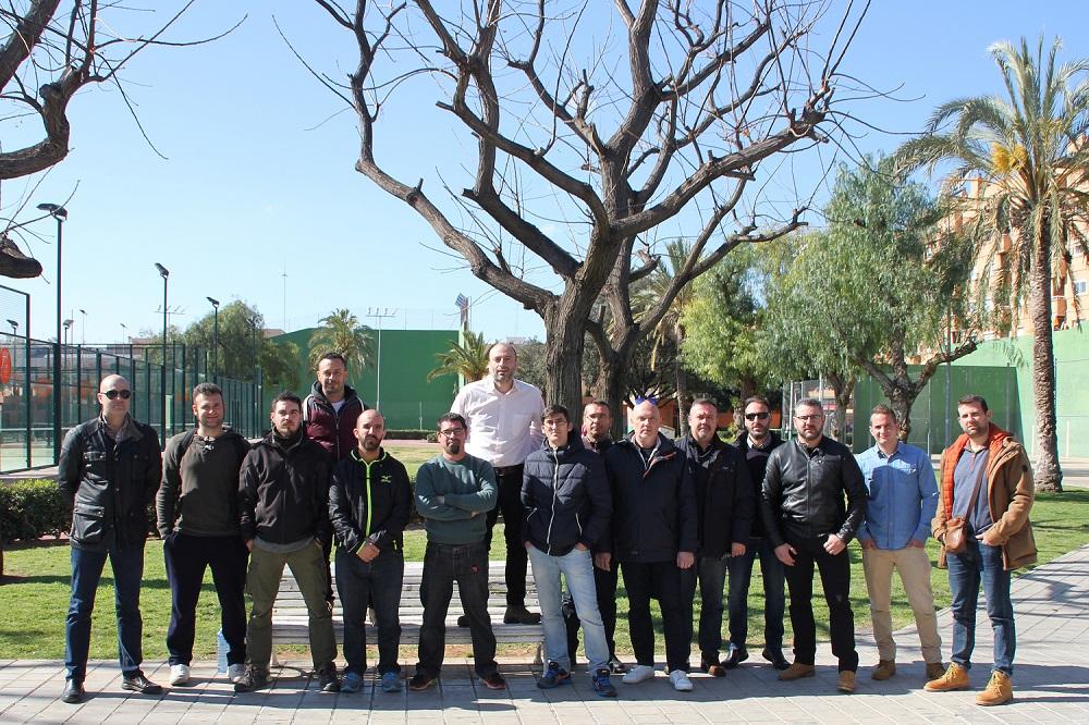Alumnos de la 3ª edición del curso de Guarda Rural de Caza el sábado en Picassent