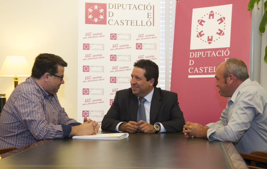 Reunion delegacion Castellon FCCV y Diputacion Castellon