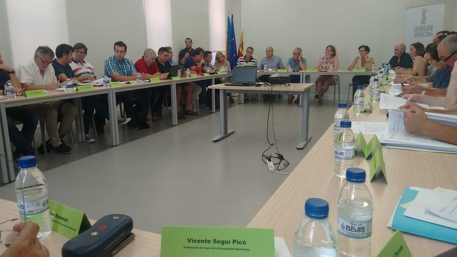 160718 Vicente Segui en reunion Mesa Forestal julio 2016